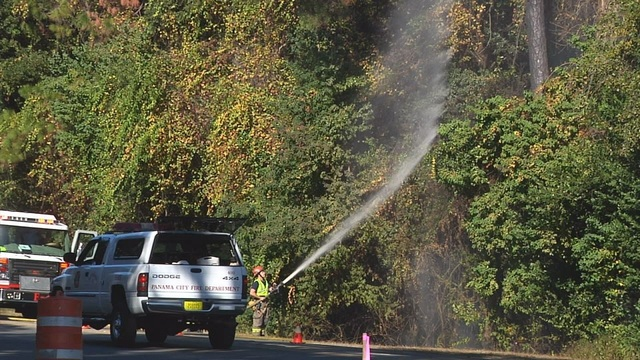Firefighters warn of dangerous fire conditions, as drought continues