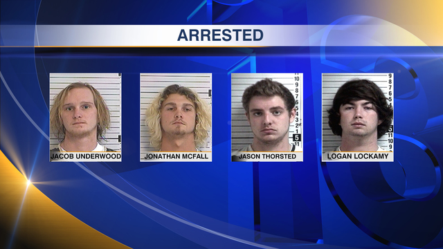 Four Charged in Home Invasion Robbery