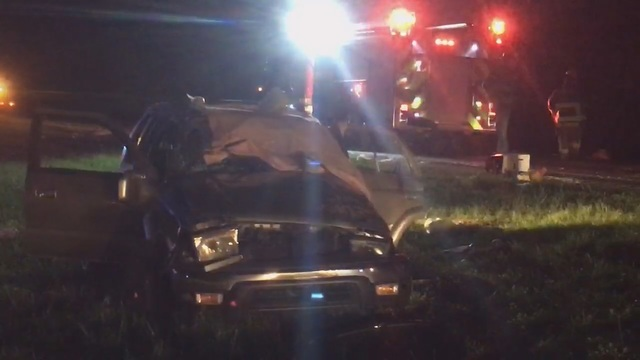 Two killed, two injured in single vehicle I-10 wreck