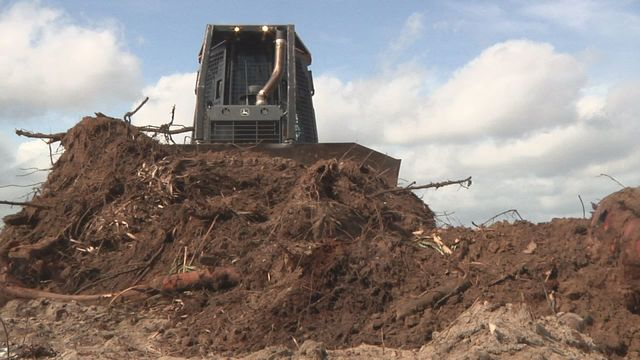 Florida Forest Service Rangers Use Special Dozers To Fight Fires