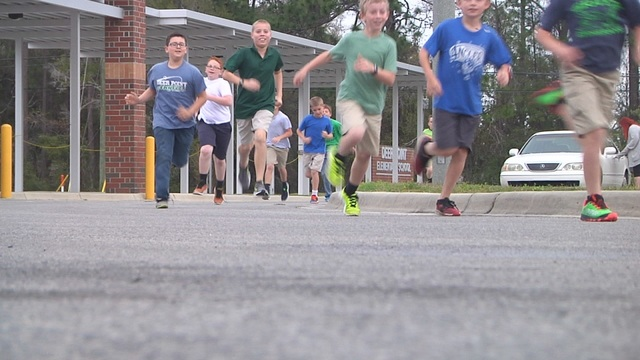 Anglers on the Run race benefits Deer Point Elementary students
