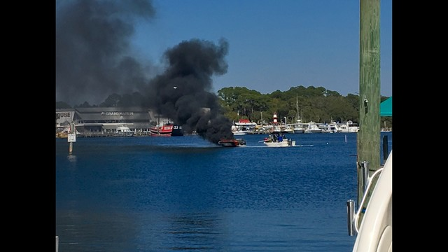 Two Injured When Boat Explodes