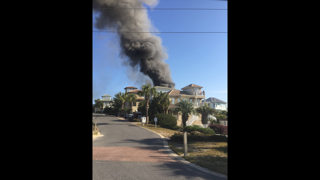 Santa Rosa Beach Home Destroyed in Fire on Monday