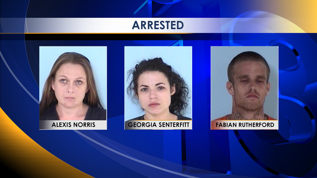 Three Arrested after Drugs and Guns Found During Traffic Stop