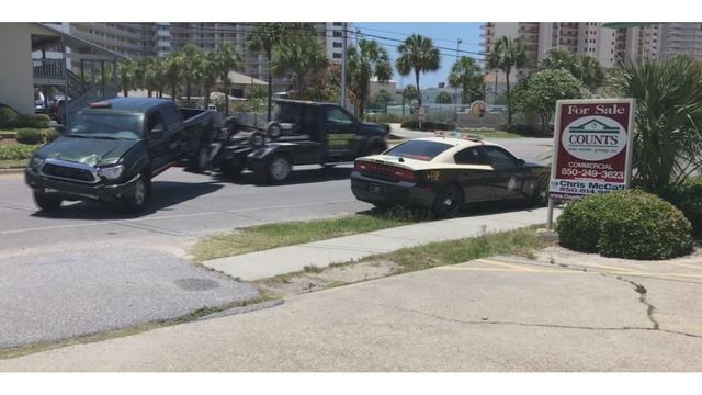 Bay County Employee Seriously Injured in Traffic Accident