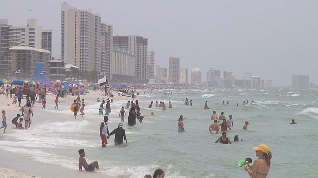 Lifeguards make nearly 200 water rescues over holiday weekend