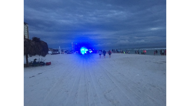Multiple Agencies Searching for Distressed Swimmer