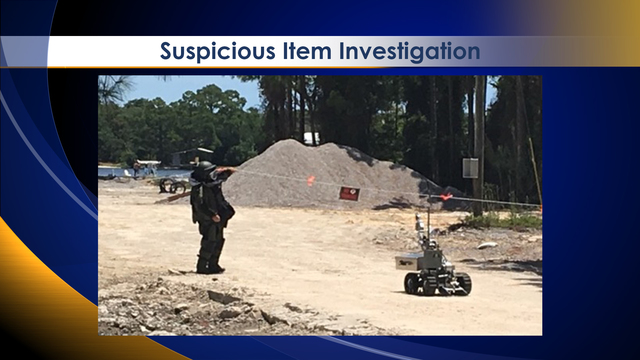 Bay Co. Bomb Squad Investigates Suspicious Item in Destin Park