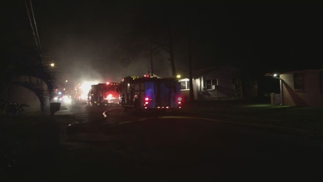 Panama City Home Severely Damaged in Fire