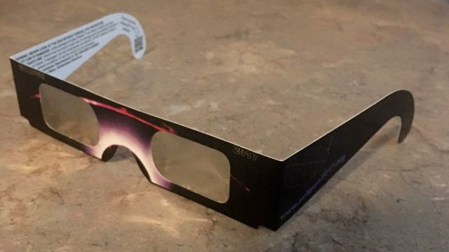 Holy Nativity Students Used Wrong Eclipse Glasses