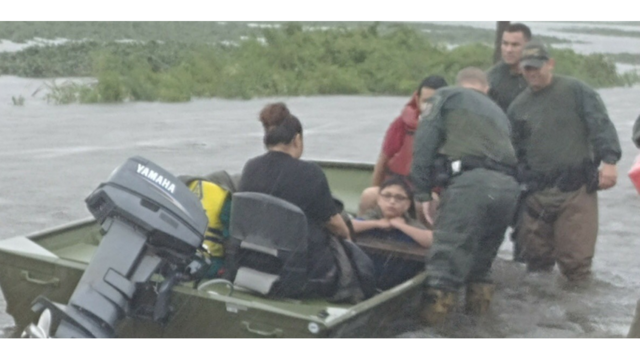 Florida Fish and Wildlife Officers Helping Texas