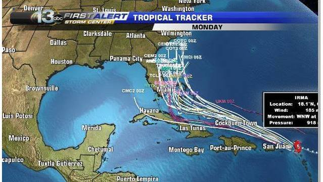 Scott Warns Irma Could be Worse than Andrew