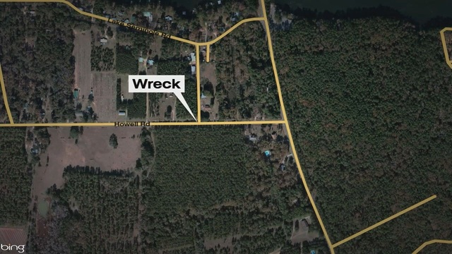 Three Injured in Jackson County wreck