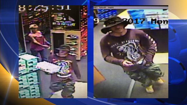 PCPD Searching for Suspect Who Used a Stolen Credit Card