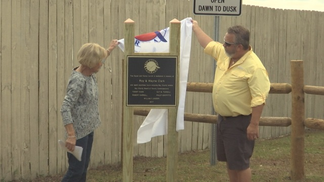 New Southport Kayak Launch Dedicated to Clark Brothers