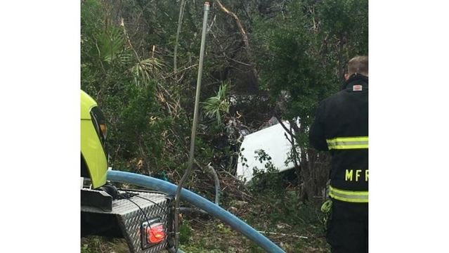 Four injured in Florida Keys plane crash