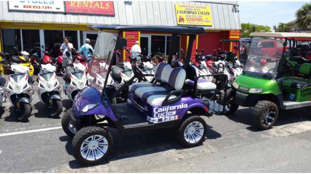 Pcb Scooter Rental Businesses Fined By The State