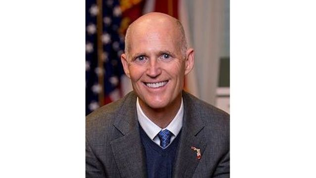 Gov. Rick Scott in the Panhandle Today
