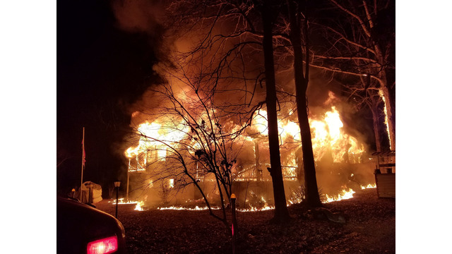 Ponce De Leon Home Destroyed in Fire