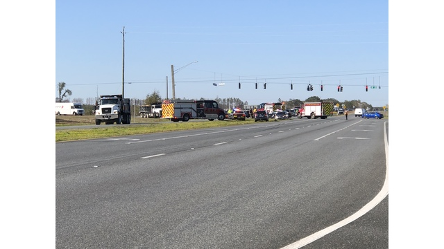Two Rushed to Hospital After Wreck on State 77 and Highway 20
