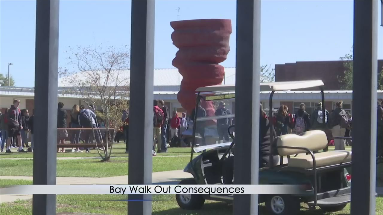 Bay District Schools: Some Walkout Students Given Tardy Slips - MYPANHANDLE