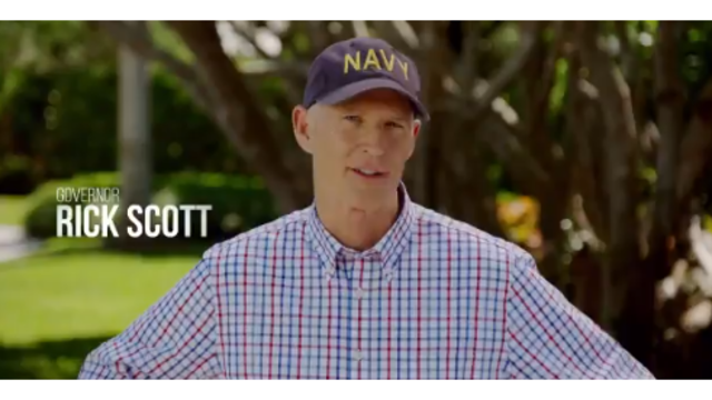 Gov. Rick Scott Announces Bid to Unseat Florida's Democratic Senator