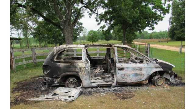 HCSO: Teens Set Fire to School Van
