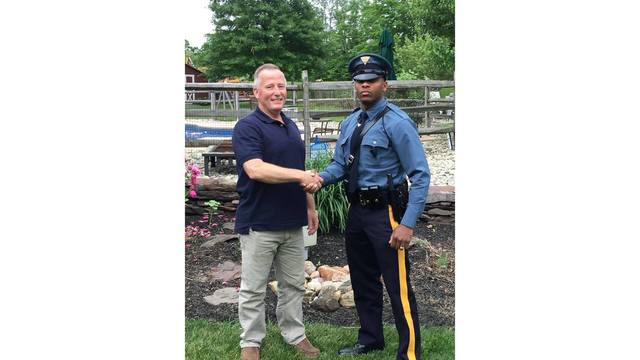 Time is a Flat Circle: New Jersey Trooper Pulls Over Retired Officer who Delivered Him