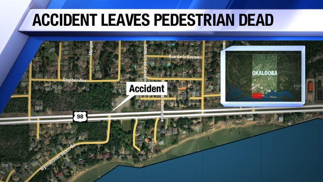 Pedestrian Killed Attempting to Cross U.S. Highway 98 in Okaloosa County