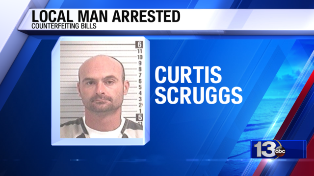 Local Man Arrested for Counterfeiting Bills