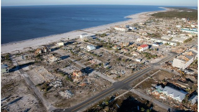 Aerial Photos Devastation In Mexico Beach After Michael