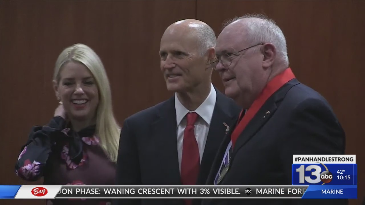 Retired Okaloosa County Judge Honored in Tallahassee