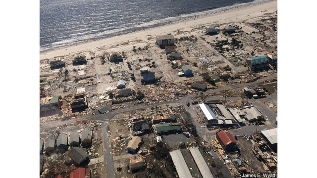 Two Months After Hurricane Michael, Mexico Beach Continues to Rebuild