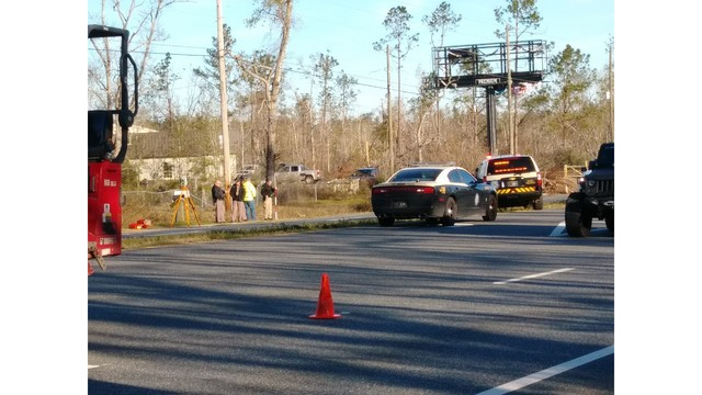 FHP: Pedestrian Hit and Killed by Semi Truck