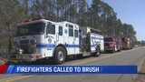 Firefighters Called to Brush Fire Near Pete Edwards Field